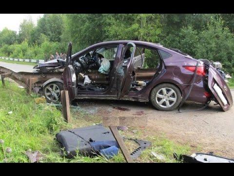 Жесткие аварии 2015 за 2ю неделю Августа