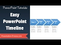 How to create Timeline in PowerPoint