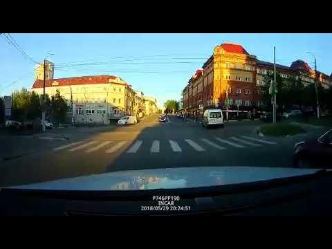 Авария в Подольске на проспекте Ленина