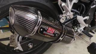 10. Yoshimura R77 Exhaust Install Honda CBR500R with Before and After Sound!