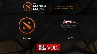 NT vs Shazam, game 2