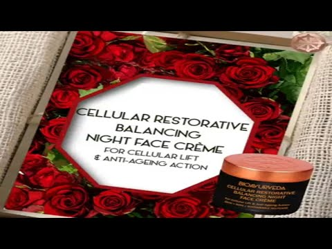 CELLULAR RESTORATIVE BALANCING NIGHT CRÈME: For Cellular Lift & Anti-Ageing Action
