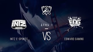 EDG vs INTZ, game 1
