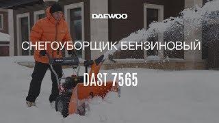 Тестирование снегоуборщика DAST 7565