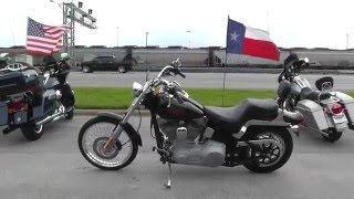8. 092670 - 2005 Harley Davidson Softail Standard FXST - Used Motorcycle For Sale