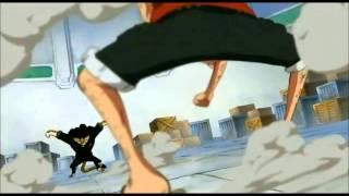 Luffy vs Lucci AMV) eiyuu  (hero) by DOA