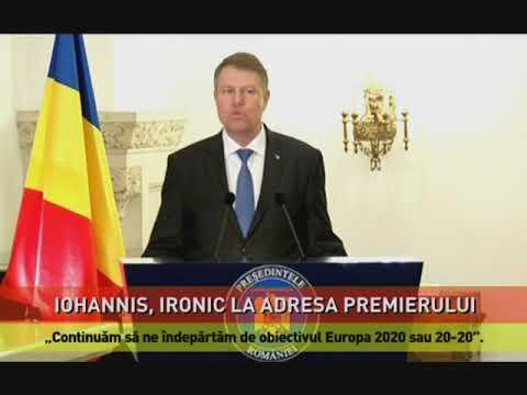 Iohannis, ironic la adresa Vioricăi Dăncilă