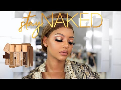 Urban Decay Stay Naked Review + Tutorial | MIHLALI N