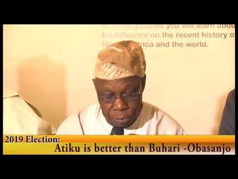 Download 2019 Election: Atiku is better than Buhari  -Obasanjo