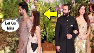 Video Shahid Kapoor Ignores Ex-Girlfriend Kareena Kapoor At Sonam Kapoor Wedding Reception MP3, 3GP, MP4, WEBM, AVI, FLV Juni 2018