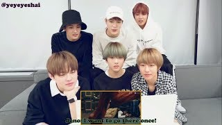 [ENGSUB] NCT Dream reacting to Super Junior's Black Suit Music Video