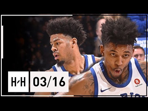 Quinn Cook & Nick Young Full Highlights Warriors vs Kings (2018.03.16) - 41 Pts Combined (видео)