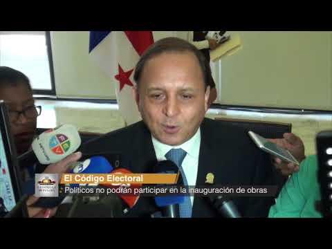 Políticos no podrán participar en la inauguración de obras
