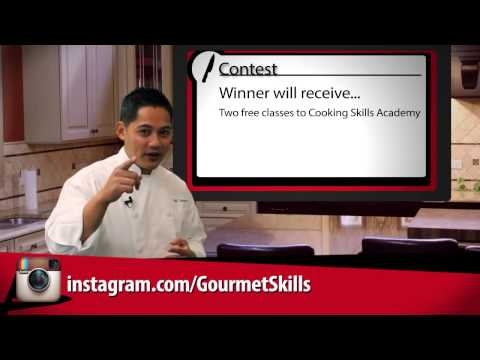 Cooking Skills Academy Weekly Newsletter [11/20/12]