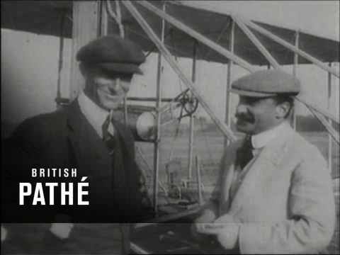Wright - Wright Brothers First Flight (1903). A Day That Shook The World. Orville and Wilbur Wright's first recorded flight caught exclusively by British Pathé in 190...