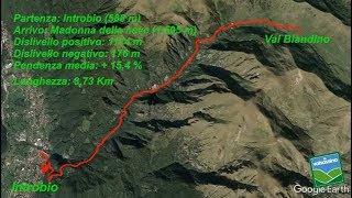 Da Introbio al Santuario della Madonna della Neve (Val Biandino)