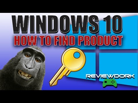 How To Find Windows 10 Product Key - SUPER EASY (2017)