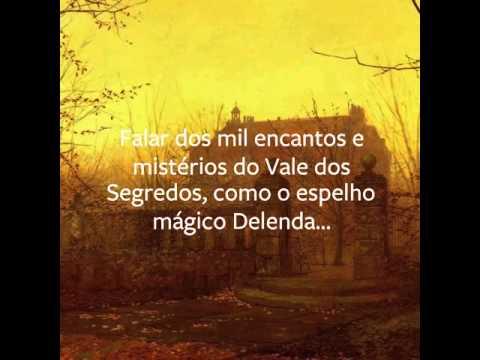 Delenda & o Vale dos Segredos - teaser da página no Facebook