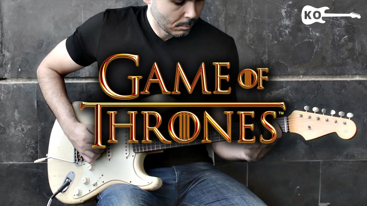 Game of Thrones Theme – Electric Guitar Cover by Kfir Ochaion Season 6 #GoTSeason6