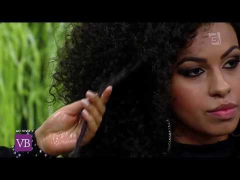 Byanca Guedes a Beleza Negra de Juquitiba no Programa Vc é Bonita