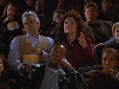 Elaine at the movie