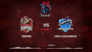 Team Empire против Vega Squadron, Первая карта, Квалификация на Dota Summit 8