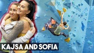Kajsa And Sofia VS The Dark Cave Of K2 - New A-Team? by Eric Karlsson Bouldering