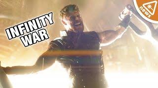 Video First Look at Thor's New Hammer in Avengers Infinity War! (Nerdist News w/ Jessica Chobot) MP3, 3GP, MP4, WEBM, AVI, FLV Juni 2018