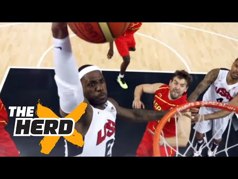 Statistical proof Team USA is MISSING LeBron James - 'The Herd'