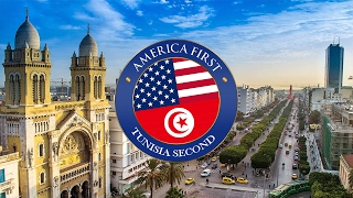 Everyone wants President Trump to have their country count second but Tunisians think that if America is first then Tunisia should...