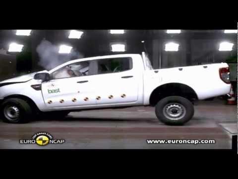 Ford Ranger двойная CRASH TEST Ford Ranger 2012