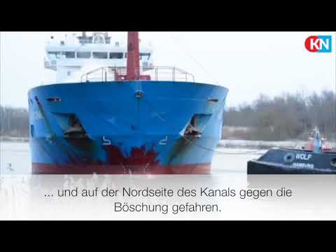 "Nord-Ostsee-Kanal: ""Northseas Rational"" fuhr in die B ..."