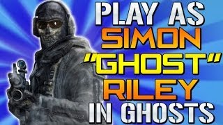 Call Of Duty Ghosts: Play As SIMON