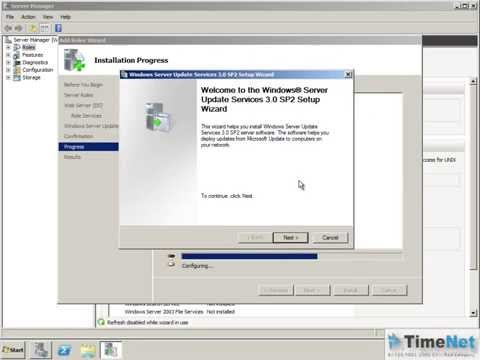 how to patch servers using wsus
