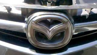 A video of how to paint the silver mazda emblems on a MAZDASPEED 3 black or any other color