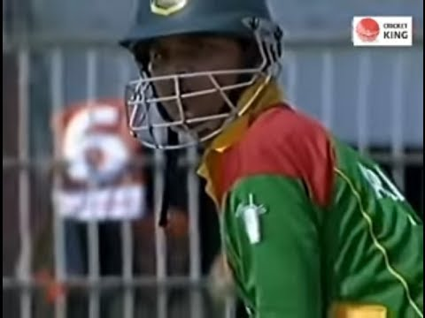 Bangladesh 1st ever 300 Total In Odis (Bangladesh ings) 1st ODI v Kenya at Bogra Mar 17, 2006