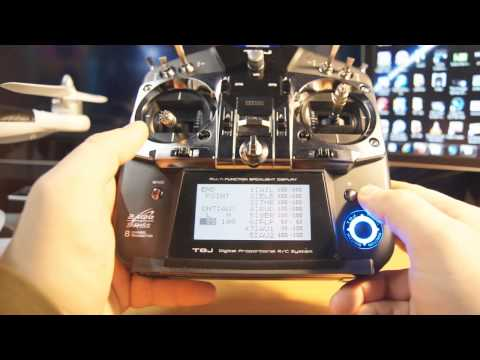 phantom part 2 - This is how to set up the Futaba Radio, these are my personal settings and as you can see from the previous video everything works great! GPS/ATTI/Manual and...