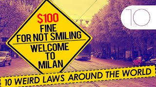 There is a law in Switzerland which prohibits flushing the toilet after 10 pm or a law in Milan where you can be caught & jailed for not smiling. Find out the other most Strangest, craziest & weirdest laws from around the world...............................................................Click to Subscribe - http://goo.gl/47SV9mShare on Facebook - http://goo.gl/gS6F4jShare on Twitter - http://goo.gl/2BWwcpGoogle Plus - http://goo.gl/vfJQEh..............................................................Follow us on Twitter - www.twitter.com/toptenamazingLike us on Facebook - www.facebook.com/thetoptenamazing..............................................................Graphic Images: http://commons.wikimedia.org/https://www.flickr.com/http://pixabay.com/
