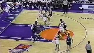 Shaquille O'Neal breaks the backboard vs Suns in rookie season