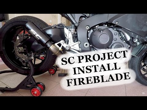 Download Sc Project Cr T Exhaust Install On Honda Cbr1000rr How To