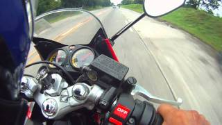 10. GPS TOP SPEED (part 1/2) : HONDA CBR 150 r (carb version) with Yamaha Sniper 150