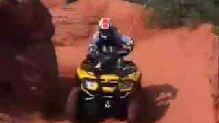 6. ATV Television Test - 2006 BRP Outlander Max 800