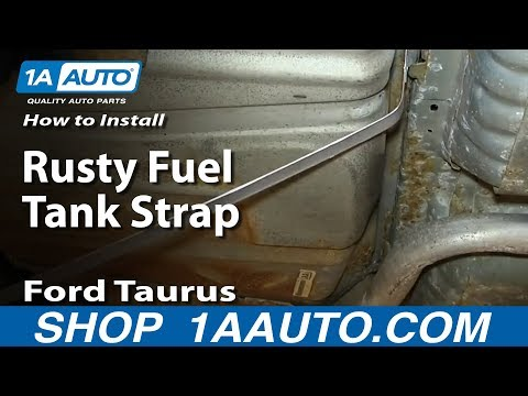 How To Install Replace Rusty Fuel Tank Straps 1996-06 Ford Taurus Mercury Sable