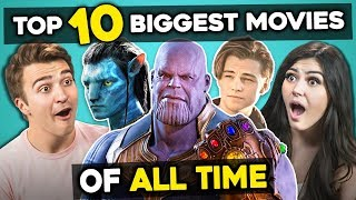 Video Adults React To Top 10 Highest Grossing Movies Of All Time MP3, 3GP, MP4, WEBM, AVI, FLV September 2019