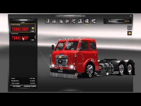 Mod FIAT 210 para ETS2 V_1.3.1 link na descriçao