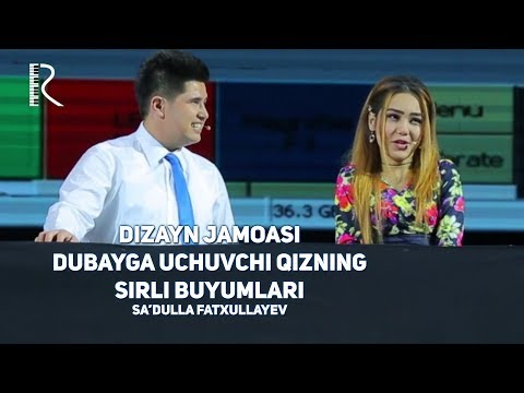 Video Dizayn jamoasi - Dubayga uchuvchi qizning sirli buyumlari (Sa'dulla Fatxullayev) download in MP3, 3GP, MP4, WEBM, AVI, FLV January 2017
