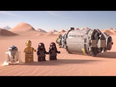 Конструктор Спасательная капсула дроидов - LEGO STAR WARS - фото № 12
