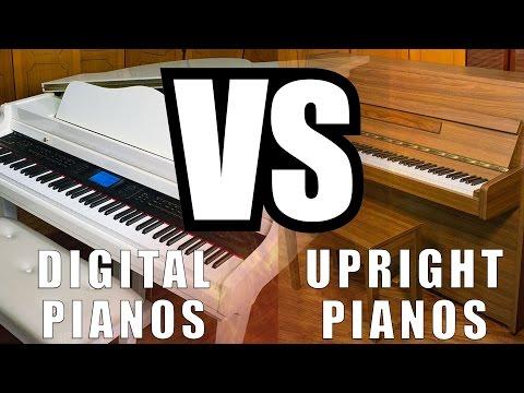 Digital Pianos Vs. Upright Pianos