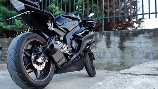 9. Insane Yamaha R6 engine revving exhaust sound. /// Yamaha R6