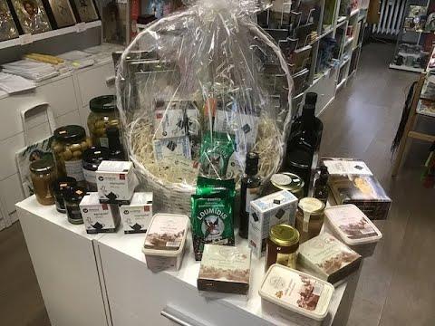 """Greckie produkty w sklepiku monasterskim """"Galilea"""""""